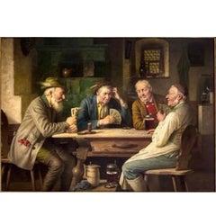 Wagner-Höhenberg, Josef. Höhenberg, The Card Game, Signed