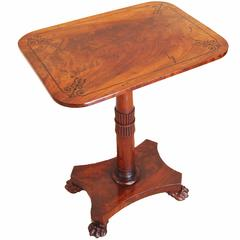 Antique Regency Mahogany Oblong Wine Table