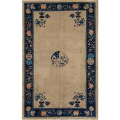 Great Looking Antique Chinese Deco Rug