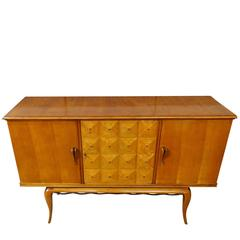 Three-Door Credenza, Italy, 1940s