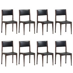 Set of Eight Dining Chairs by Carlo Di Carli