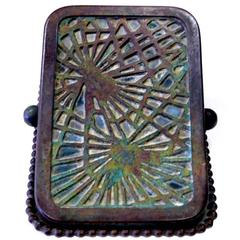 Pine Needle Paper Clip by Tiffany Studios