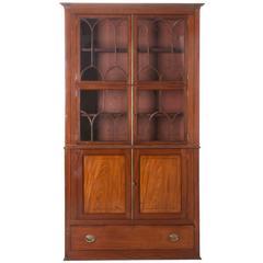 English 19th Century Mahogany Bookcase