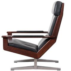 Rare Rosewood Lotus Lounge Chair by Rob Parry for Gelderland, Netherlands