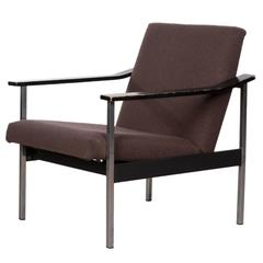 Coen de Vries Adjustable Easy Chair for Gispen, Netherlands