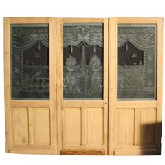 Superb 19th Century, French Room Divider/Dividing Doors