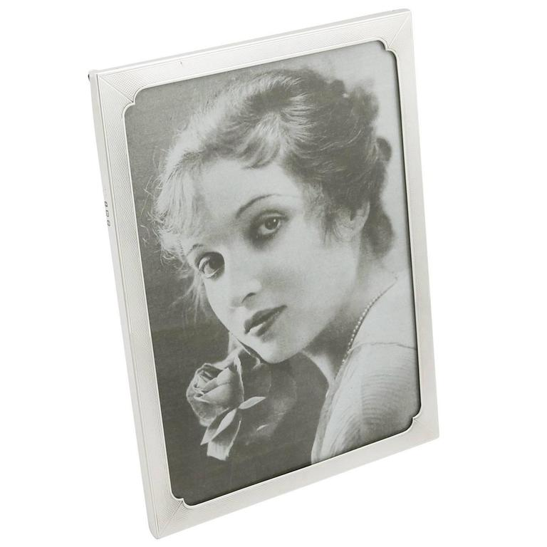 1940s Sterling Silver Photograph Frame
