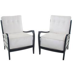 Fine Pair of Paolo Buffa Armchairs