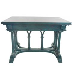 Gothic Granite-Top Writing Table