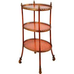 French Three-Tier Etagere, 19th Century