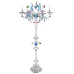 Exquisite Italian 'Ca Rezzonico' Floor Lamp