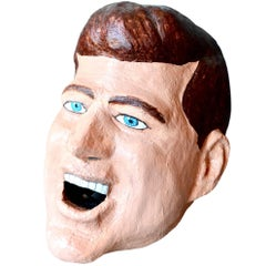 Monumental JFK Sculptural Head