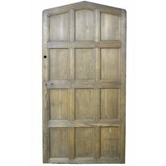 Antique Arched Hemlock / Pine Door
