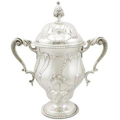 1910s Sterling Silver Presentation Cup and Cover