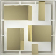 Screen of Light Squared Sconce by Gio Ponti