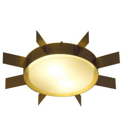 Elegant Wall Light 'Sun' Sconce by Gio Ponti