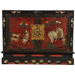 Vintage Chinese Painted Chest
