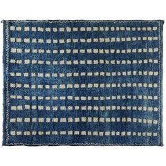 Navy Blue Moroccan Berber Rug