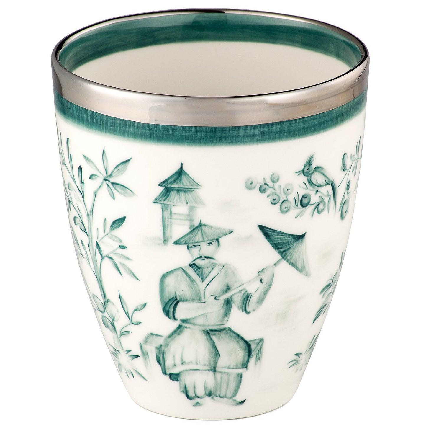 Chinoiserie Handpainted Porcelain Vase  Sofina Boutique Kitzbuehel