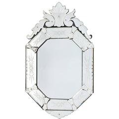 Vintage Venetian Mirror, circa 1940