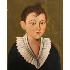 Hand-Painted Acrylic Portraits on Wood