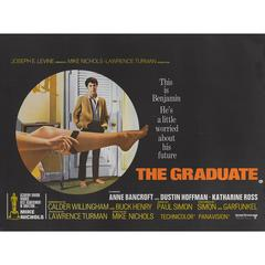 """The Graduate"" Original British Movie Poster"