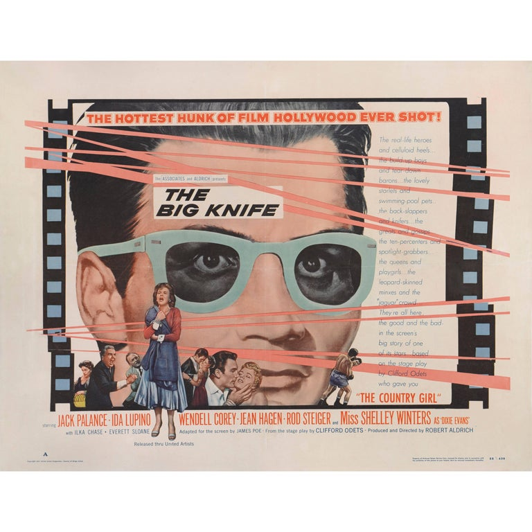"""Big Knife"" Movie Poster"