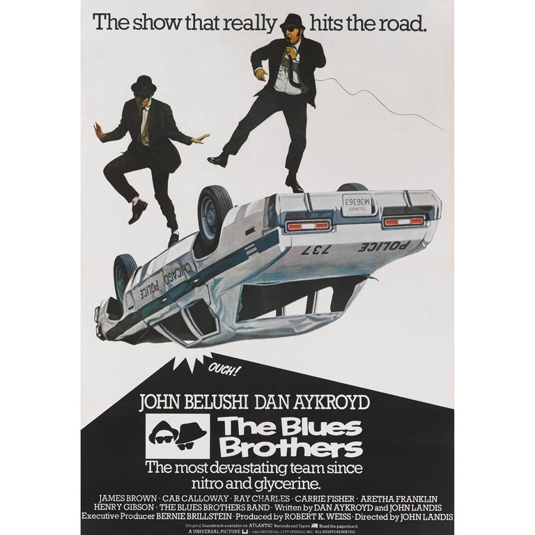 """""""The Blues Brothers"""" Original British Movie Poster For Sale"""