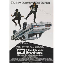 """The Blues Brothers"" Original British Movie Poster"