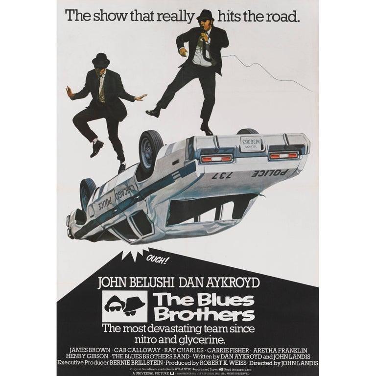 """The Blues Brothers"" Original British Movie Poster"