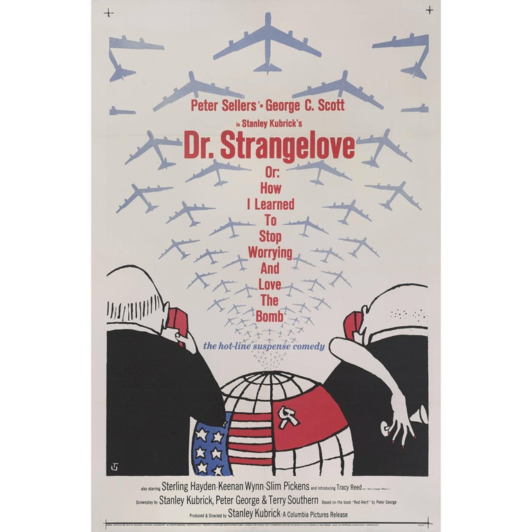 """Dr. Strangelove"" Original American Movie Poster"
