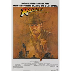 """Raiders of the Lost Ark"" Original American Movie Poster"