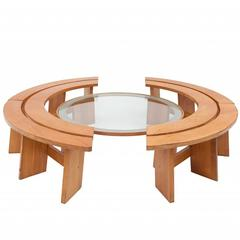 Pierre Chapo Curved Benches