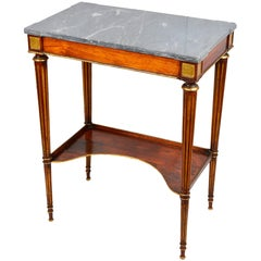 Regency Period Side Table, circa 1820