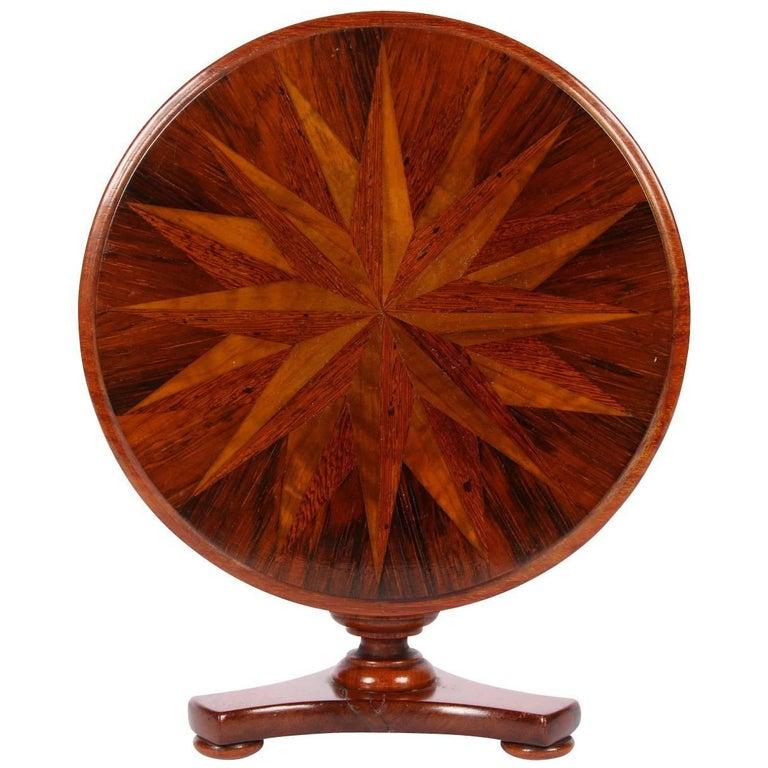 19th Century Salesman's Sample Tilt-Top Table For Sale