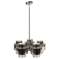 Mid-Century Modern Five-Light Chandelier