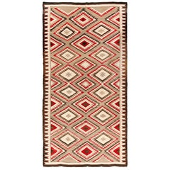 Extremely Rare Room Size Vintage Navajo Rug