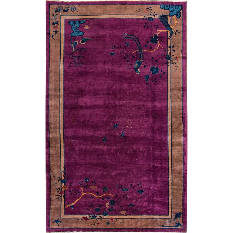 Chinese mandarin rug for sale at 1stdibs for Chinese furniture norwalk ct
