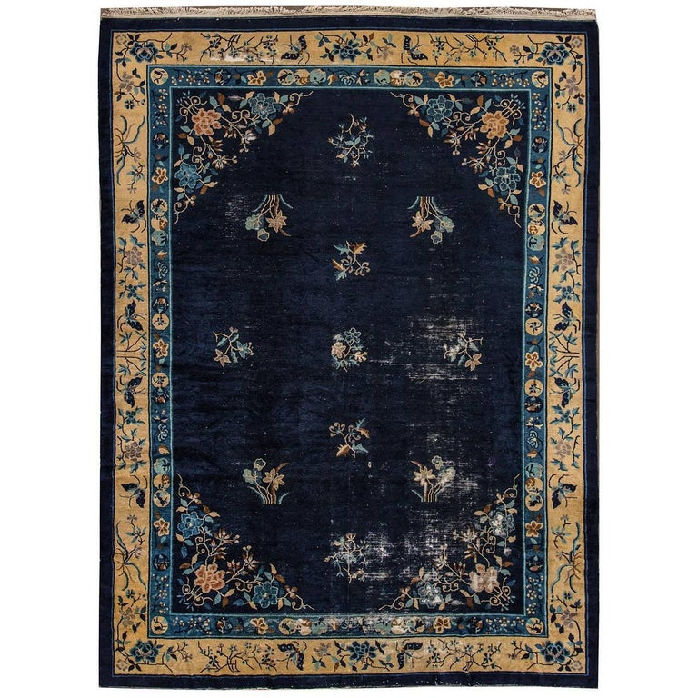 Antique chinese peking rug for sale at 1stdibs for Chinese furniture norwalk ct