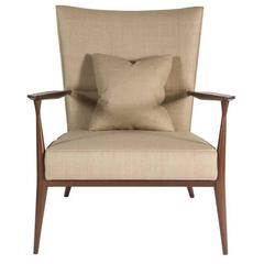 North Curved Back Armchair