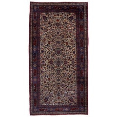 Antique Persian Mashhad Palace Size Rug with Venetian Ottoman Style