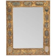 18th Century Italian Carved Gilded Mirror