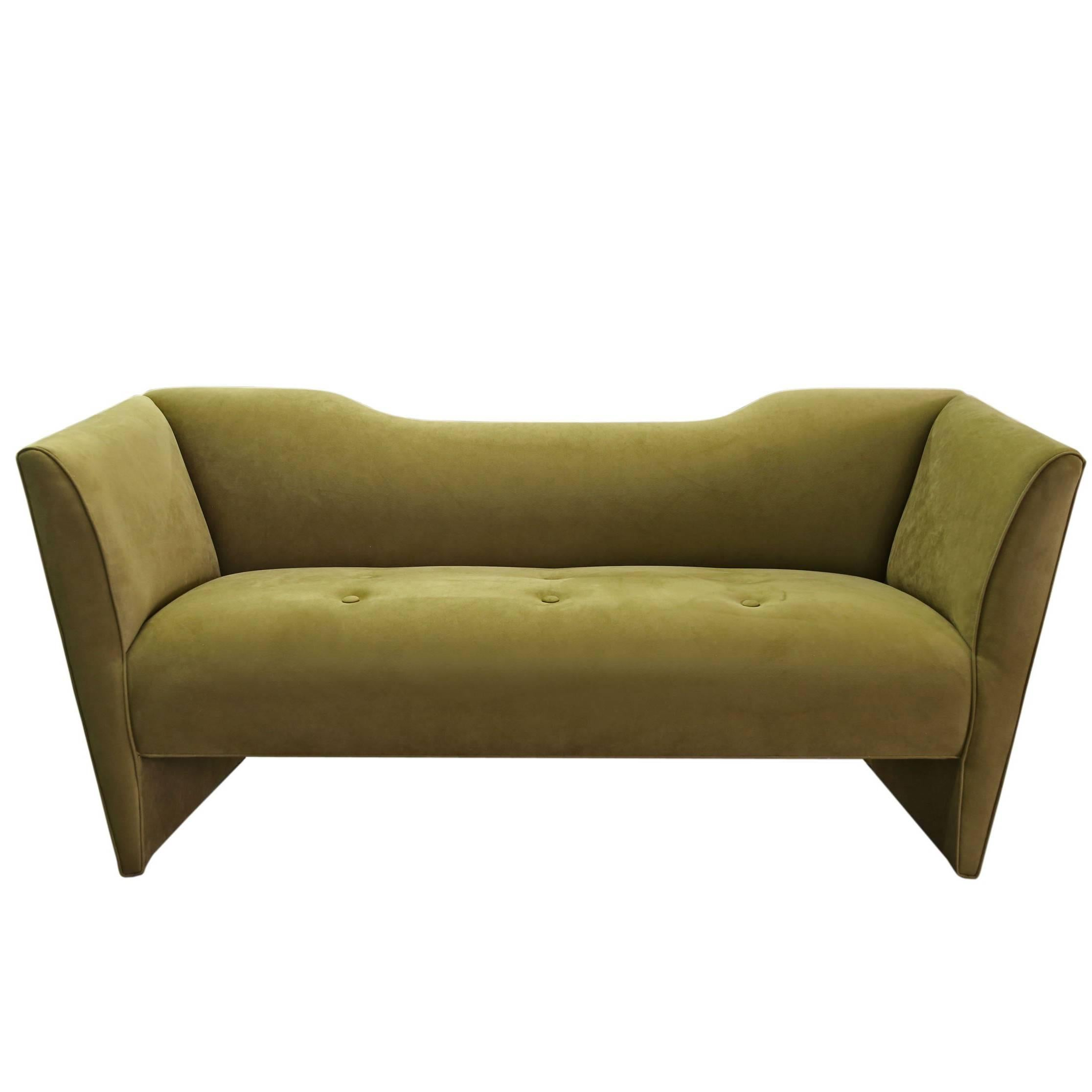 Charmant Sentient Memphis Inspired Nersi Sofa In Green