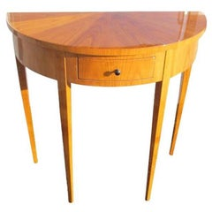 High Gloss Polished Console from the Biedermeier Period