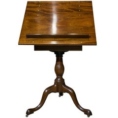 Mahogany Artists Table