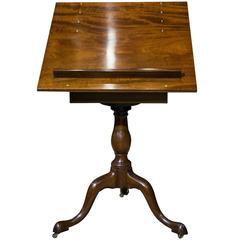 Mahogany Artists Table