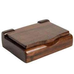 Rare Rosewood Box by Alexandre Noll