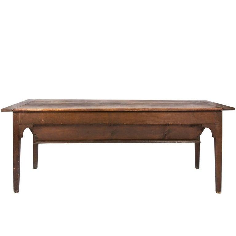 Tilt Top Farmhouse Table For Sale at 1stdibs