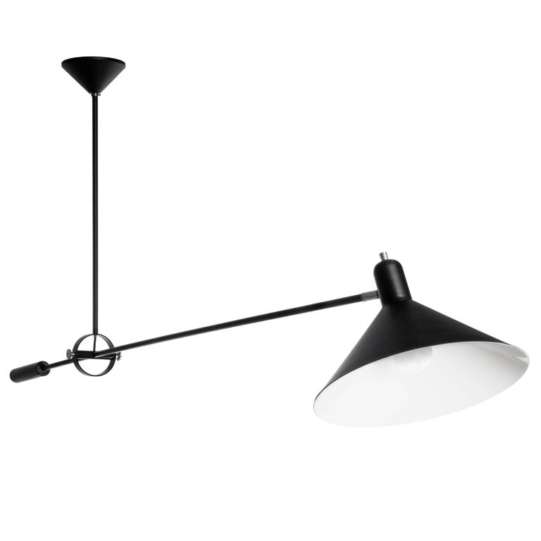 J.J.M. Hoogervorst Counterbalance Ceiling Light for Anvia