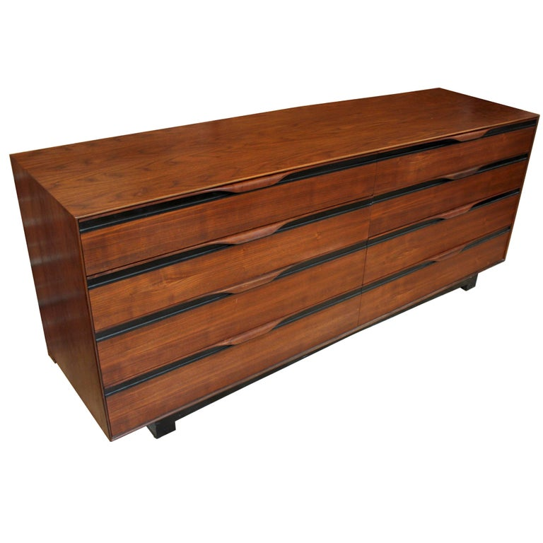 1960s Walnut Dresser by John Kapel for Glenn of California